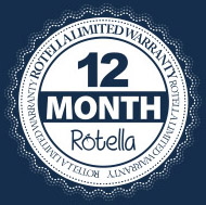 rotella warranty badge